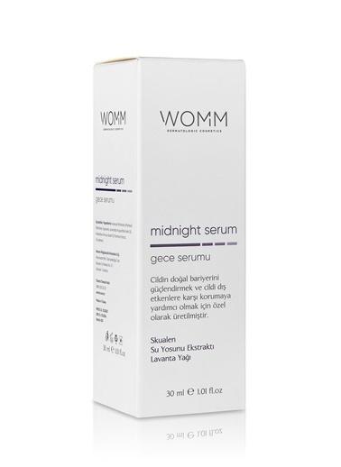 Womm Cosmetic Yaşlanma Karşıtı Gece Bakım Serumu Renksiz